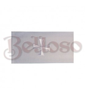 SAGRARIO 2004 METAL PLATEADO 24,5X29,5X  21,5 CM,