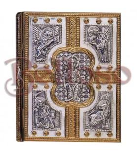 TAPA BIBLIA 3000 METAL DOS TONOS