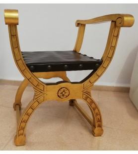 SITIAL modelo 13 madera dorada